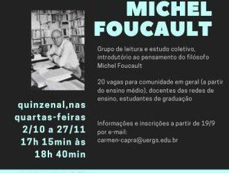 Leituras de introdução ao pensamento Michel Foucault