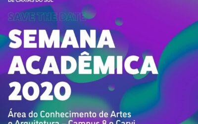Abertura da Semana Acadêmica de Artes Visuais da UCS