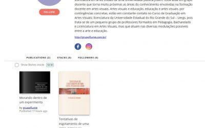 Publicações do Grupo Flume na rede social Issuu